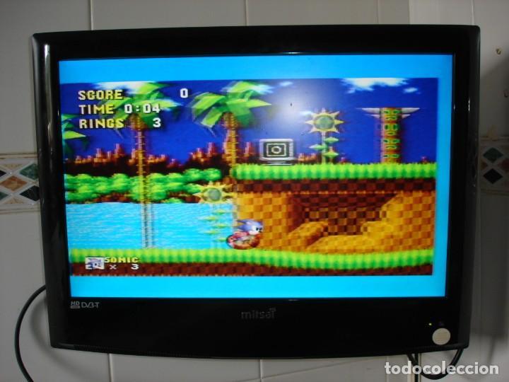 Videojuegos y Consolas: CONSOLA SEGA MEGADRIVE. MEGA DRIVE II COMPLETA + 3 JUEGOS. -- EN FUNCIONAMIENTO - Foto 8 - 170117972