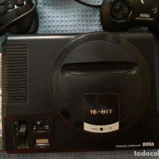 Videojuegos y Consolas: CONSOLA MEGA DRIVE. 2 MANDOS Y JUEGO. Lote 170862380