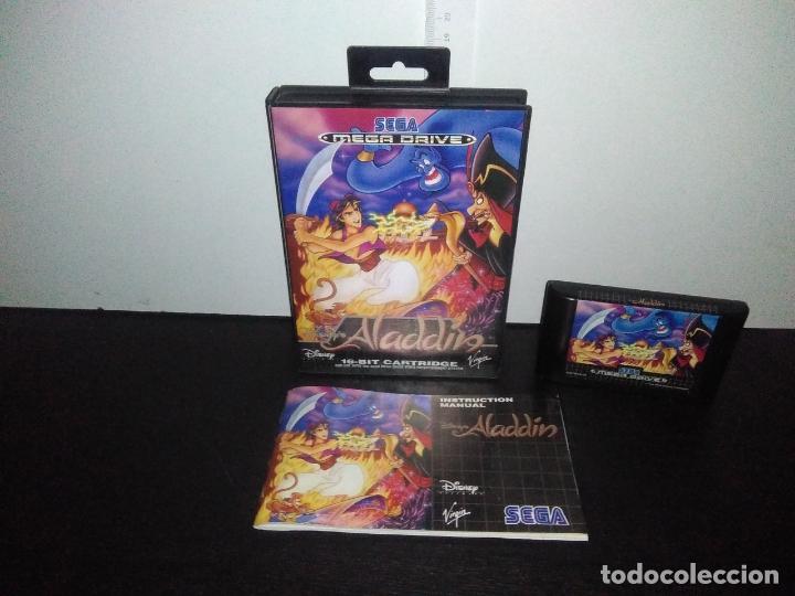 JUEGO SEGA MEGADRIVE ALADDIN DISNEY COMPLETO MEGA DRIVE (Juguetes - Videojuegos y Consolas - Sega - MegaDrive)