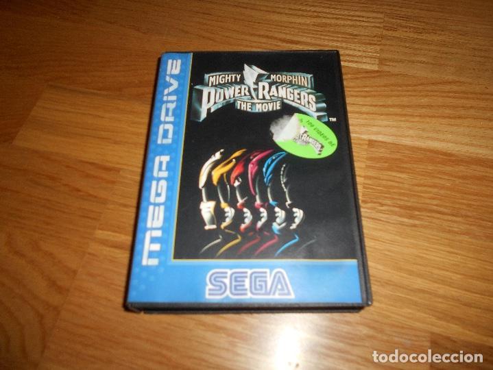 JUEGO VIDEOJUEGO CONSOLA SEGA MEGA DRIVE MIGHTY MORPHIN POWER RANGERS MOVIE PAL (Juguetes - Videojuegos y Consolas - Sega - MegaDrive)