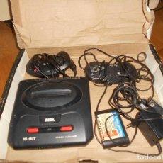Videojuegos y Consolas: CONSOLA SEGA MEGA DRIVE II 16 BIT COMPLETA TODO ORIGINAL. Lote 171871337