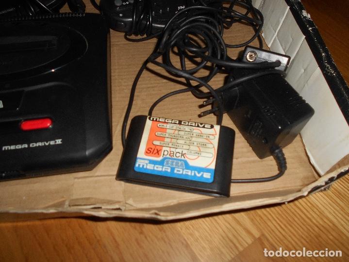 Videojuegos y Consolas: CONSOLA SEGA MEGA DRIVE II 16 BIT COMPLETA TODO ORIGINAL - Foto 3 - 171871337