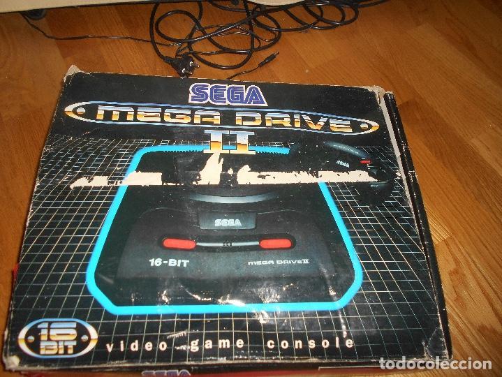 Videojuegos y Consolas: CONSOLA SEGA MEGA DRIVE II 16 BIT COMPLETA TODO ORIGINAL - Foto 4 - 171871337