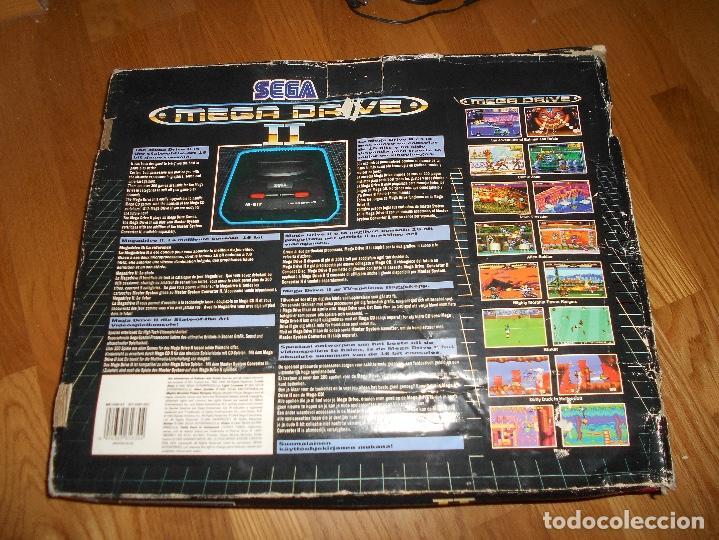 Videojuegos y Consolas: CONSOLA SEGA MEGA DRIVE II 16 BIT COMPLETA TODO ORIGINAL - Foto 5 - 171871337