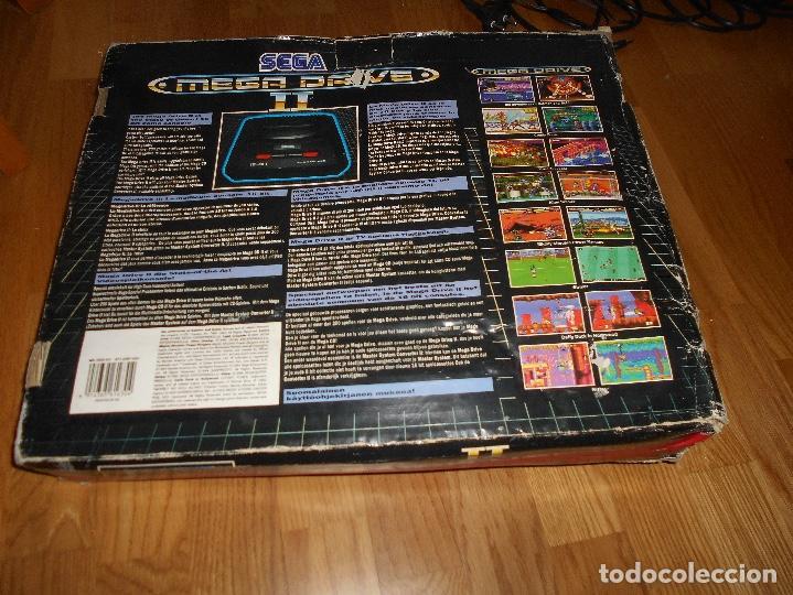 Videojuegos y Consolas: CONSOLA SEGA MEGA DRIVE II 16 BIT COMPLETA TODO ORIGINAL - Foto 6 - 171871337
