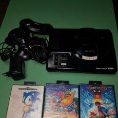 Jeux Vidéo et Consoles: LOTE SEGA 16 BIT + JUEGOS SONIC, PANIC ON FUNKOTRON, STREET FIGHTER II. Lote 172424850