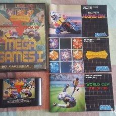 Videojuegos y Consolas: MEGA GAMES 1 MEGADRIVE. Lote 173049707