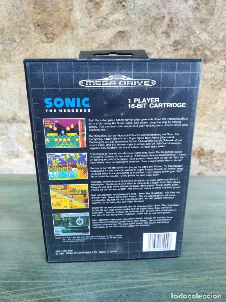 Videojuegos y Consolas: Juego Sonic para Mega Drive (Leer descripción) - Foto 2 - 173626732