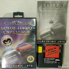 Jeux Vidéo et Consoles: LOTUS TURBO CHALLENGE - MEGADRIVE MEGA DRIVE PAL ESP. Lote 173728127