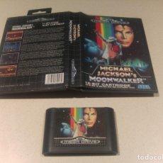 Videojuegos y Consolas: MOONWALKER SEGA MEGADRIVE MEGA DRIVE PAL. Lote 174046438