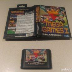 Videojuegos y Consolas: MEGA GAMES E SEGA MEGADRIVE MEGA DRIVE PAL. Lote 174046575