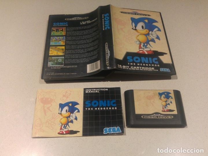 SONIC SEGA MEGADRIVE MEGA DRIVE PAL (Juguetes - Videojuegos y Consolas - Sega - MegaDrive)