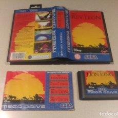 Videojuegos y Consolas: EL REY LEON SEGA MEGADRIVE MEGA DRIVE PAL. Lote 174046669