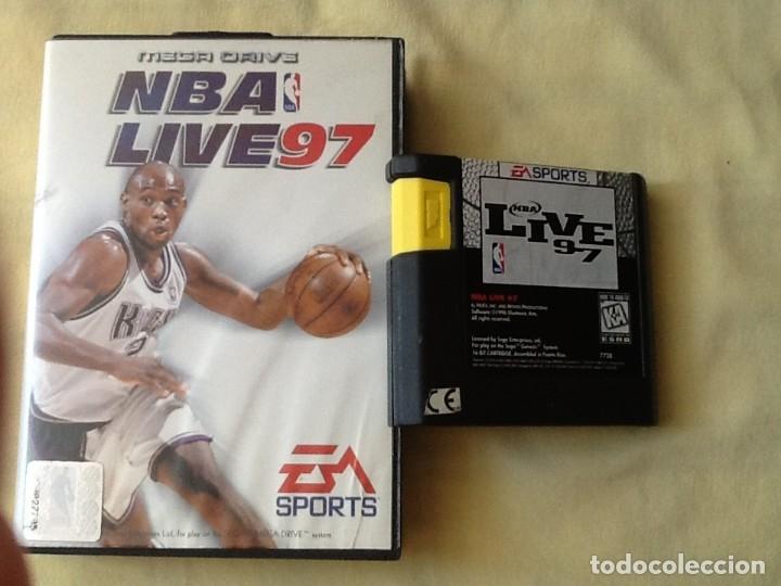VIDEO JUEGO. MEGA DRIVE, NBA 97. PARA UNO O CUATRO JUGADORES. PERFECTO ESTADO. (Juguetes - Videojuegos y Consolas - Sega - MegaDrive)