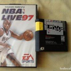 Videojuegos y Consolas: VIDEO JUEGO. MEGA DRIVE, NBA 97. PARA UNO O CUATRO JUGADORES. PERFECTO ESTADO. . Lote 175139968