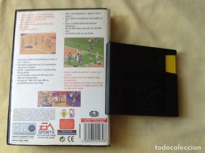 Videojuegos y Consolas: VIDEO JUEGO. MEGA DRIVE, NBA 97. PARA UNO O CUATRO JUGADORES. PERFECTO ESTADO. - Foto 2 - 244532920