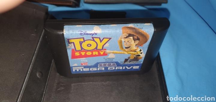 Videojuegos y Consolas: Consola sega megadrive modelo 2 + juegos - Foto 3 - 175486992
