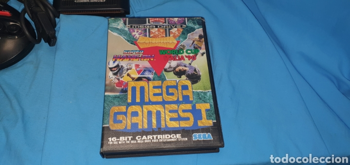 Videojuegos y Consolas: Consola sega megadrive modelo 2 + juegos - Foto 4 - 175486992