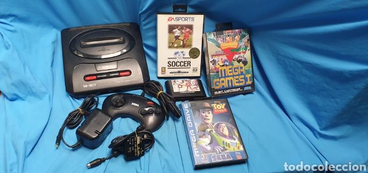 CONSOLA SEGA MEGADRIVE MODELO 2 + JUEGOS (Juguetes - Videojuegos y Consolas - Sega - MegaDrive)