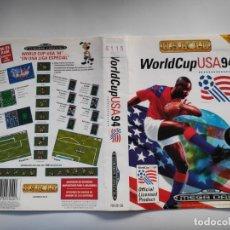 Videojuegos y Consolas: CARATULA WORLDCUP USA 94 MEGADRIVE. Lote 80315109