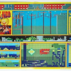 Videojuegos y Consolas: MAPA ALEX KIDD IN SHINOBI WORLD CONSOLA MEGADRIVE REVISTA HOBBY CONSOLAS MAP008. Lote 175563623