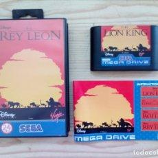 Videojuegos y Consolas: JUEGO SEGA MEGA DRIVE - EL REY LEON - COMPLETO. Lote 175603495