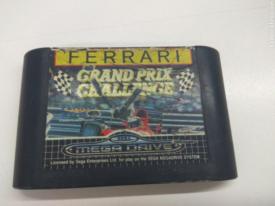 JUEGO SEGA MEGA DRIVE FERRARI GRAND PRIX 1992 (Juguetes - Videojuegos y Consolas - Sega - MegaDrive)