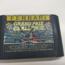 Videojuegos y Consolas: JUEGO SEGA MEGA DRIVE FERRARI GRAND PRIX 1992. Lote 175826754