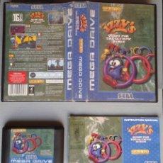 Videojuegos y Consolas: JUEGO SEGA MEGA DRIVE IZZY´S QUEST FOR THE OLYMPIC RINGS COMPLETO BOXED CIB PAL R9275. Lote 175831880