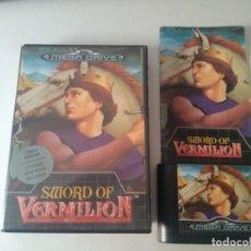 Videojogos e Consolas: SWORD OF VERMILION PARA MEGADRIVE !!! ENTRA Y MIRA MIS OTROS JUEGOS!!. Lote 176257003