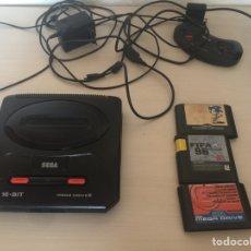 Videojuegos y Consolas: VÍDEO CONSOLA MEGA DRIVE 2. Lote 176494415