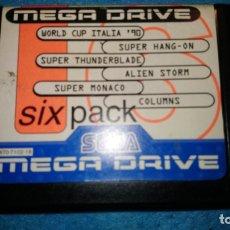 Videojuegos y Consolas: MEGA GAMES 6 SEGA MEGA DRIVE. Lote 177186062