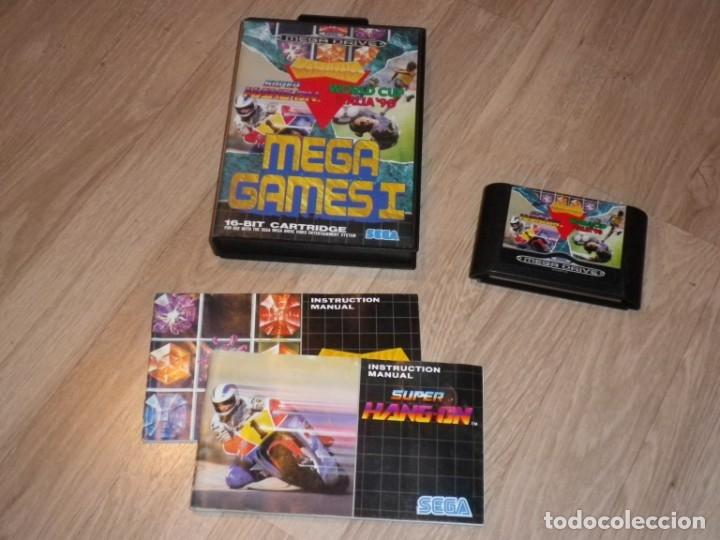 SEGA MEGADRIVE JUEGO MEGAGAMES I COMPLETO (Juguetes - Videojuegos y Consolas - Sega - MegaDrive)
