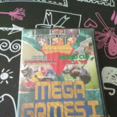 Videojuegos y Consolas: MEGA GAMES 1. SEGA MEGA DRIVE. COLUMNS, SUPER HANG-ON, WORLD CUP ITALIA 90. Lote 177305934