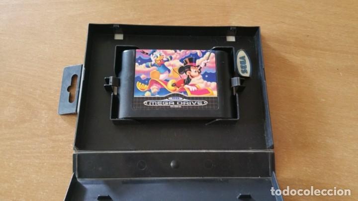 Videojuegos y Consolas: WORLD OF ILLUSION MICKEY MOUSE DONALD DUCK SEGA MEGADRIVE PAL - Foto 3 - 199259962