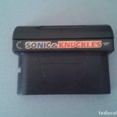 Videojuegos y Consolas: JUEGO SEGA MEGA DRIVE SONIC KNUCKLES PAL SOLO CARTUCHO R9351. Lote 177573458
