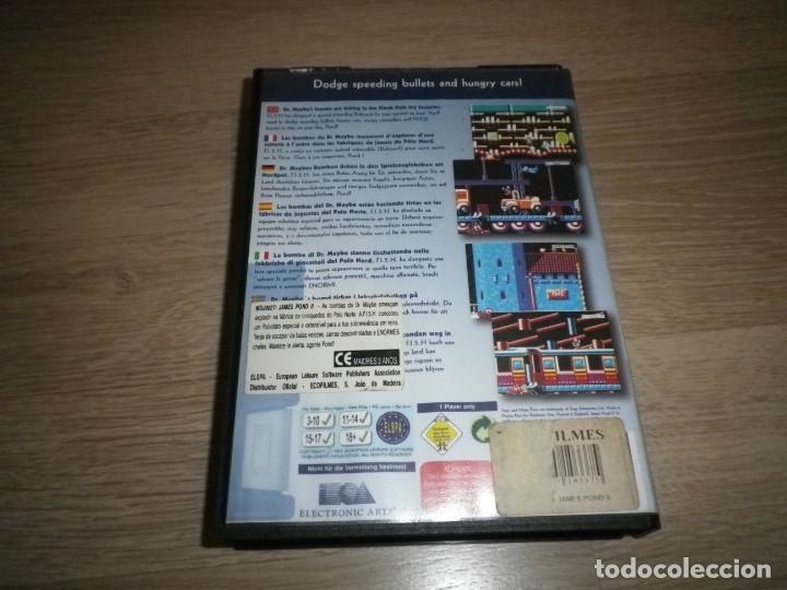 Videojuegos y Consolas: SEGA MEGADRIVE JUEGO JAMES POND II COMPLETO (VERSIÓN PORTUGUESA) - Foto 3 - 177893384