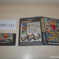 Videojuegos y Consolas: MEGADRIVE - MEGA GAMES I , PAL ESPAÑOL , SIN INSTRUCIONES. Lote 177947862