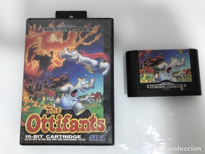 THE OTTIFANTS MEGADRIVE (Juguetes - Videojuegos y Consolas - Sega - MegaDrive)
