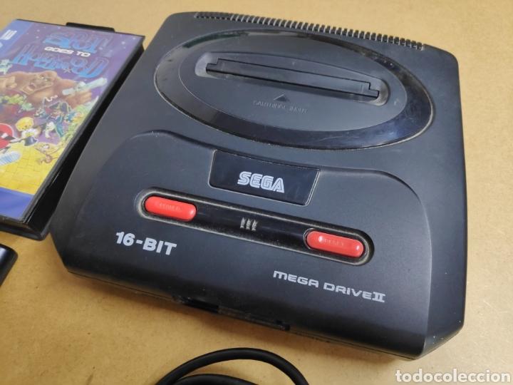 Videojuegos y Consolas: Consola SEGA MEGA DRIVE II - Foto 2 - 178602225