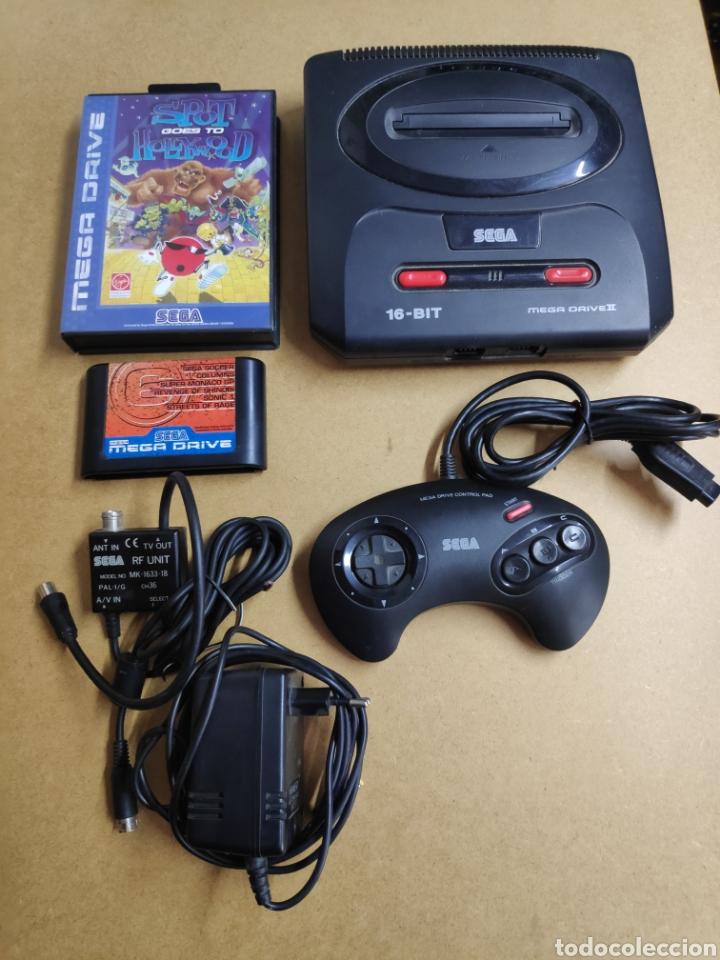 CONSOLA SEGA MEGA DRIVE II (Juguetes - Videojuegos y Consolas - Sega - MegaDrive)