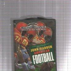 Videojuegos y Consolas: JOHN MADDEN AMERICAN FOOTBALL. Lote 178927463
