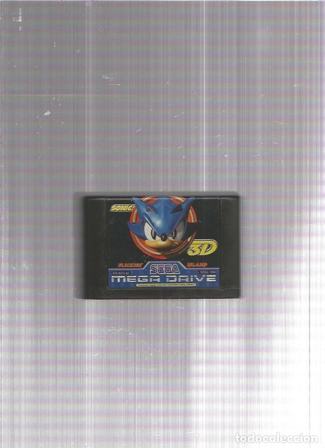 SONIC 3D MEGA DRIVE (Juguetes - Videojuegos y Consolas - Sega - MegaDrive)