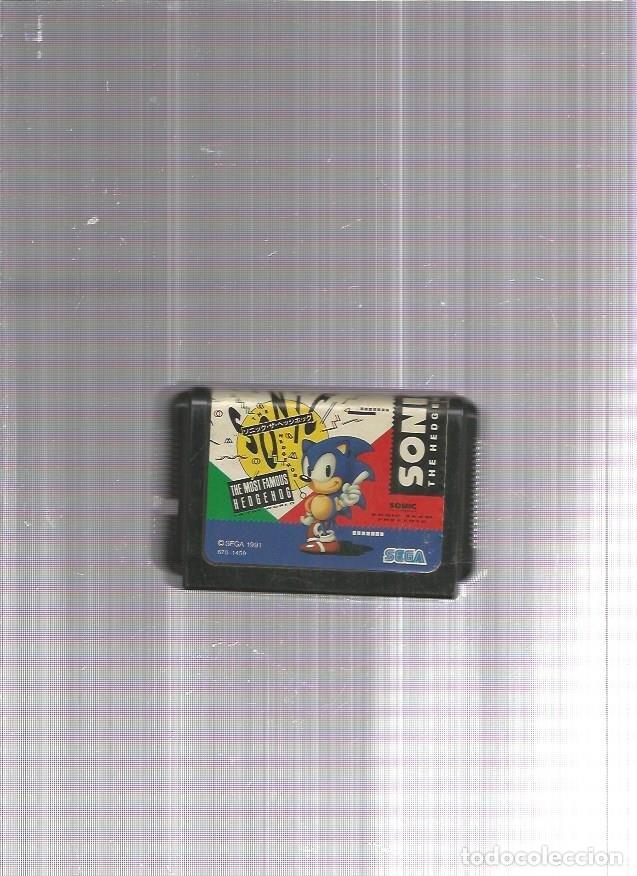 SONIC MEGA DRIVE (Juguetes - Videojuegos y Consolas - Sega - MegaDrive)