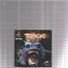 Videojuegos y Consolas: PRIMAL RAGE INSTRUCCIONES PLAYSTATION . Lote 178929910