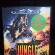 Videojuegos y Consolas: JUEGO SEGA MEGA DRIVE, JUNGLE STRIKE. Lote 179150261