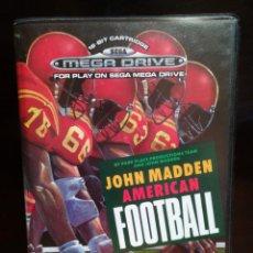 Videojuegos y Consolas: JUEGO JOHN MADDEN AMERICAN FOOTBALL. Lote 179170291