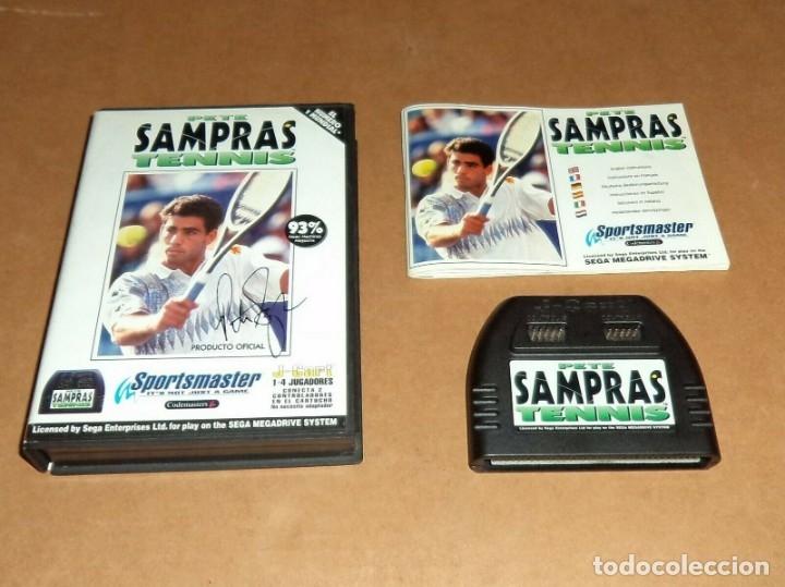 PETE SAMPRAS TENNIS PARA SEGA MEGADRIVE / MEGA DRIVE, PAL (Juguetes - Videojuegos y Consolas - Sega - MegaDrive)