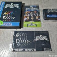 Videojuegos y Consolas: POWER RANGERS MEGA DRIVE. Lote 180100482