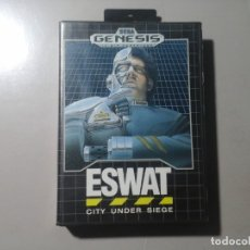 Videojuegos y Consolas: ESWAT CITY UNDER SIEGE. SEGA GENESIS 16 BIT CARTRIDGE.1990. MADE IN JAPAN. MUY RARO.. Lote 180147436